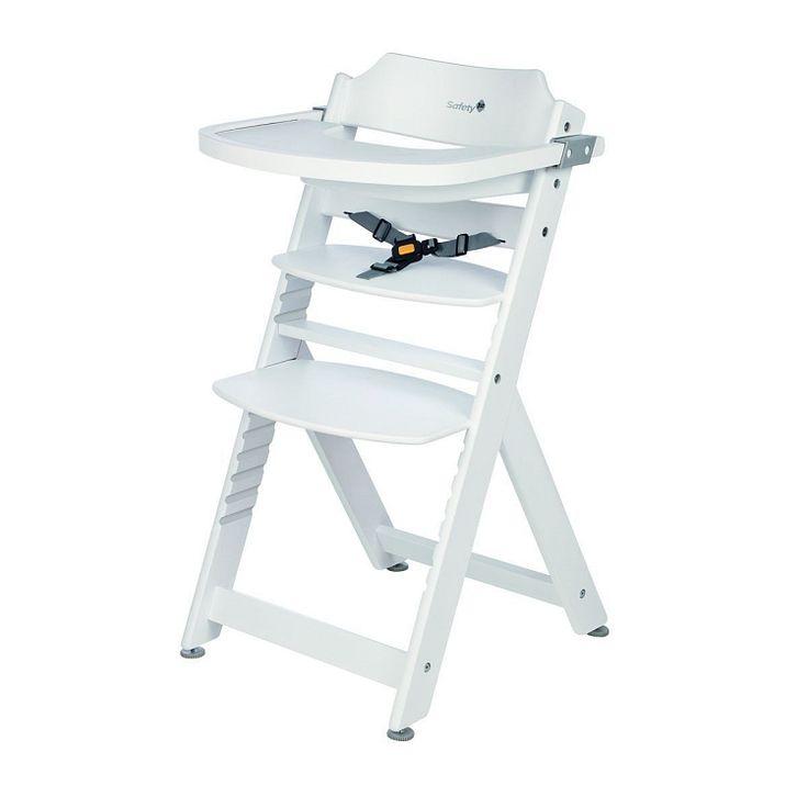 Safety 1st, Timba, White, krzesełko do karmienia, białe
