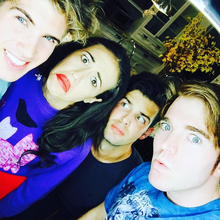 Joey Graceffa, MirandaSings, Daniel Christopher, and Shane Dawson