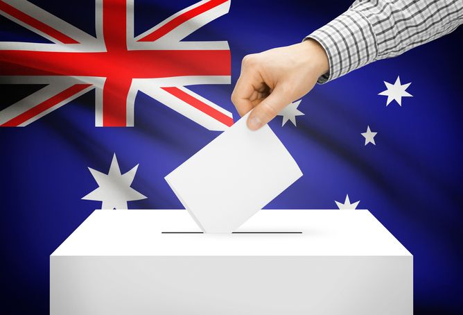 """""""Compulsory voting, much like democracy, beats the alternatives."""" 70% of Australians favour compulsory voting. Do you agree?"""