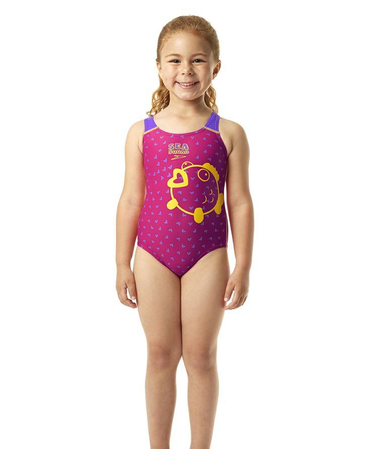 Bañador Speedo para la práctica de natación para niña.