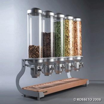 EZ SERV, Snack Dispensers, Acrylic Food Dispenser, Toppings Dispenser