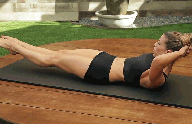 Badabun: 8 ejercicios caseros para tener un abdomen perfecto en 3 semanas