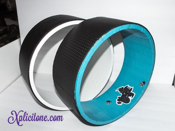 DIY Yoga Wheel : Learn how to make your own Yoga wheel, in this DIY tutorial.