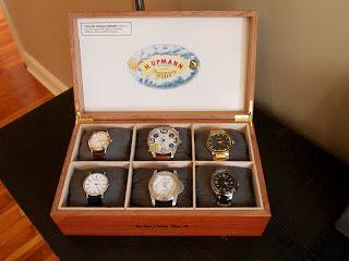 DIY watch box jewelry box for men