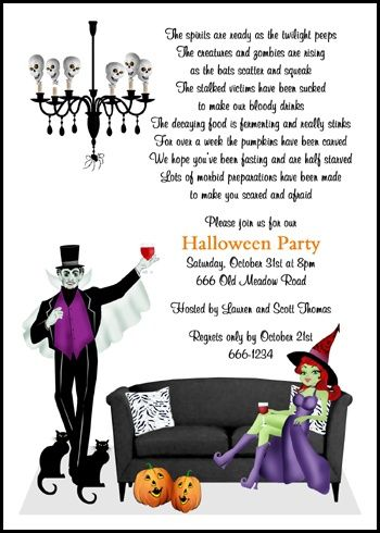 Halloween Costume Party Invitations for awesome invitation template