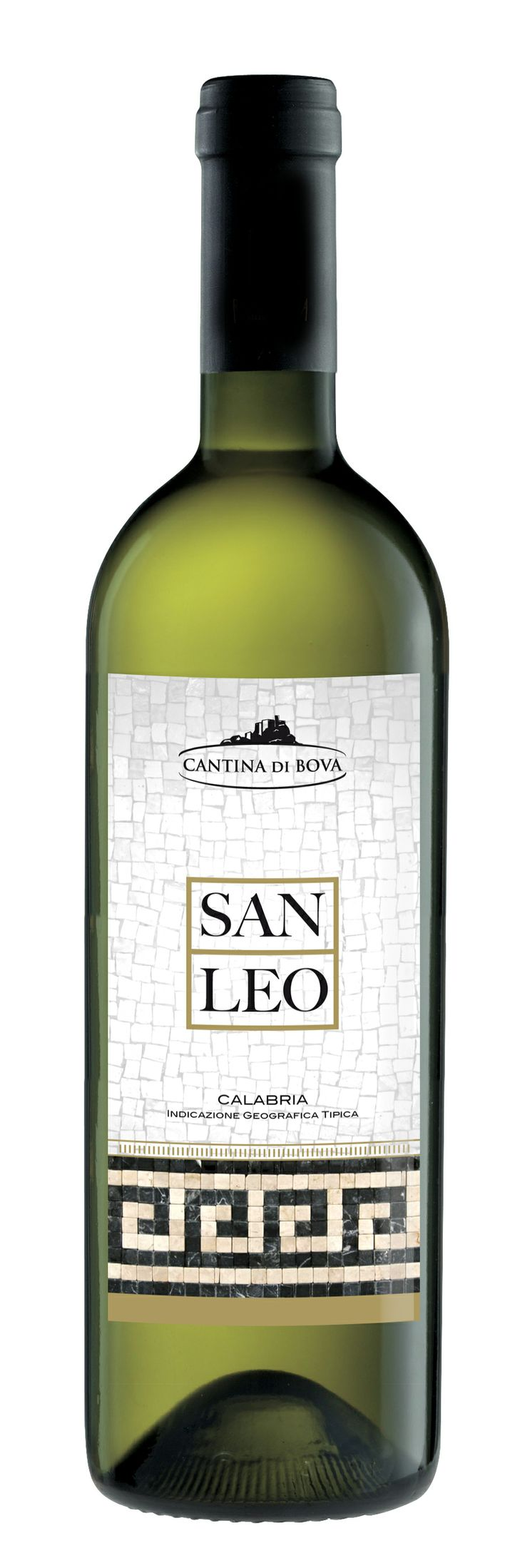 "Etichetta vino ""San Leo"" - Cantina di Bova - RC"