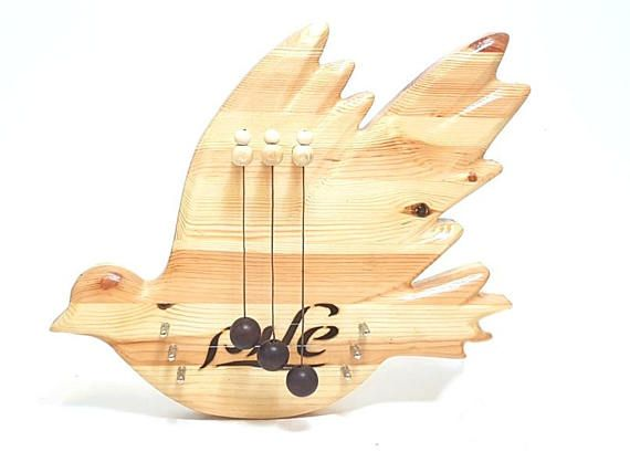 Peace Pigeon door harp  perfect harmony for your house