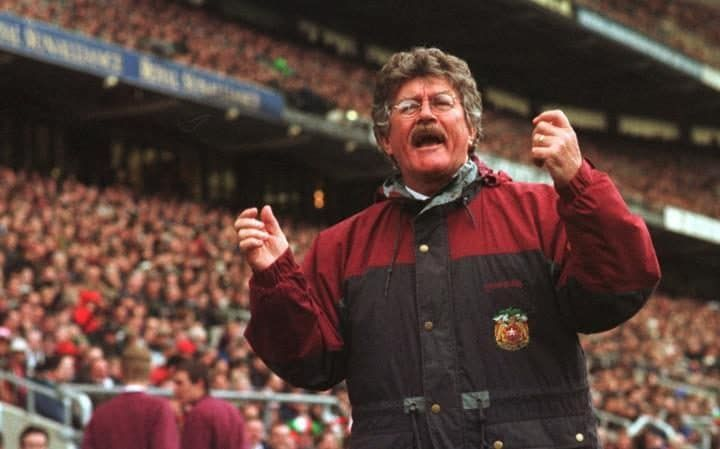 Bob Dwyer lors de la finale 1991