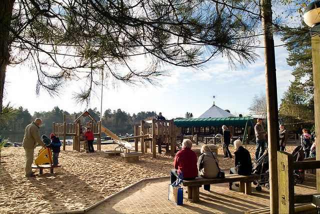The Beach at Sherwood Forest, via Flickr.
