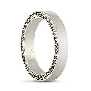 female wedding ring! stylish and classy!