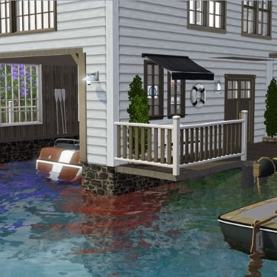 Boathouse Villa by Moonstruck1 - The Exchange - Community - The Sims 3