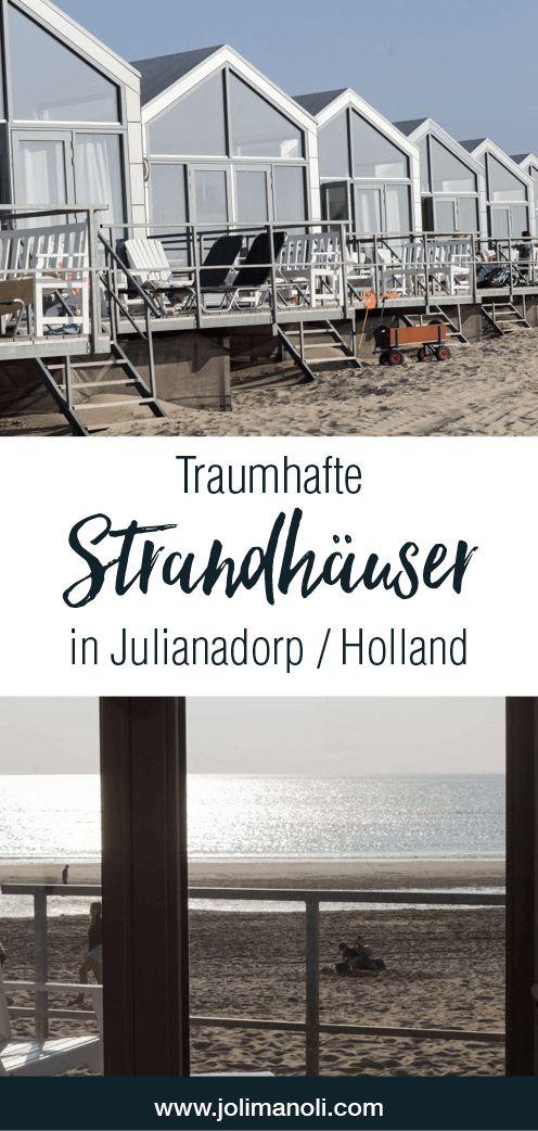 Traumhafte Strandhäuser in Julianadorp / Holland. Perfekter Urlaub an der Nordsee