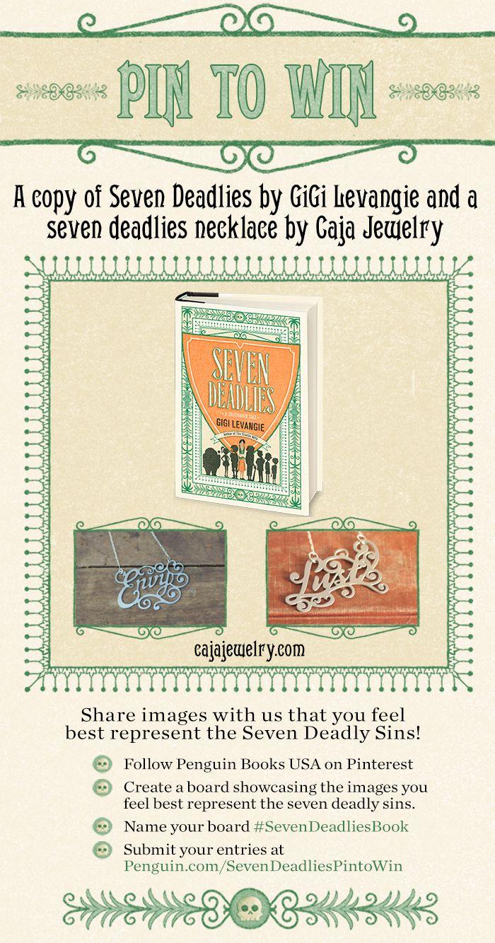 #SevenDeadliesBook #contest  Illustrations by Cecilia Ruiz