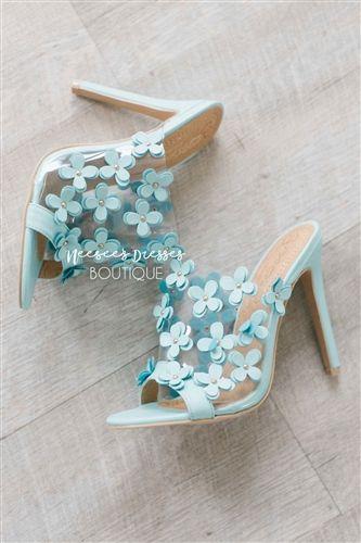 a1994f891b4e Mint Flower Power Heels
