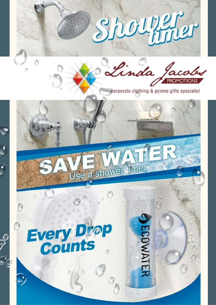 Save Water! With the new level-five water restrictions implemented, save water with the Shower timer⏳ For more info - See more products on our website - http://www.lindajacobspromotions.co.za/ Email: linda@lindajacobspromotions.co.za Call us - 083 6280181 | 021 5572152 #lindajacobspromotions #showertimer #savewater