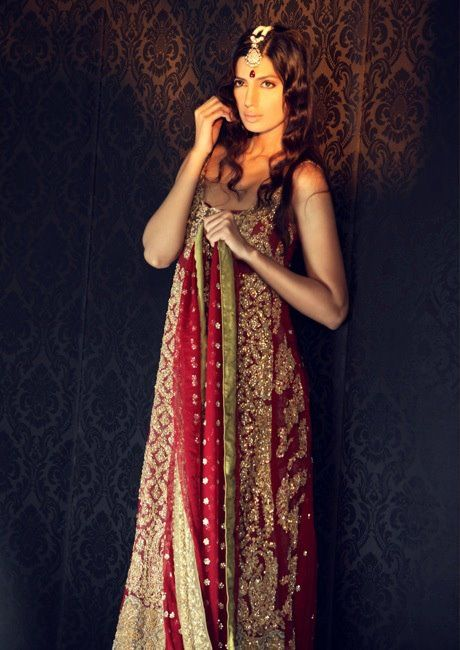 Latest Bridle dress collection by Sana Safinaz www.ozyle  (10)