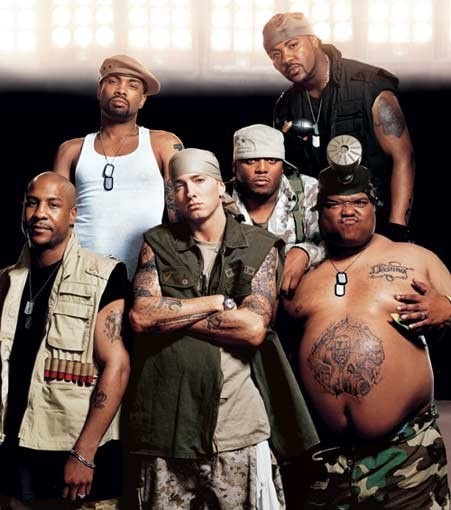 D12 in August of 2005.  So cute.  Squad goals right here.