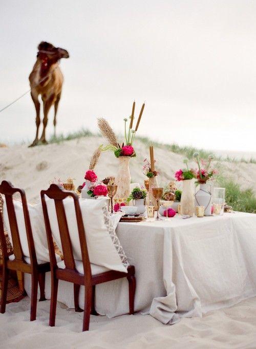 Inspired by Middle Eastern Desert Wedding Details