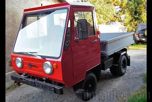 Oldtimer IFA Multicar zum Mieten