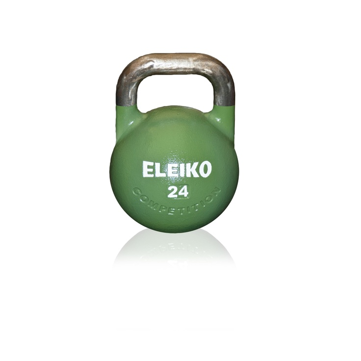 Eleiko Competition Kettlebell 24 kg, I'm contemplating getting one of those since I think that given that I need only one, the 24 kg is the most functional