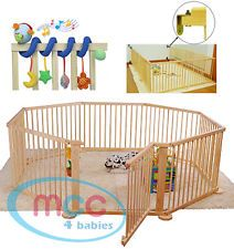 LARGE playpen for SMALLER children! ( with foam mats inside - along with toys )