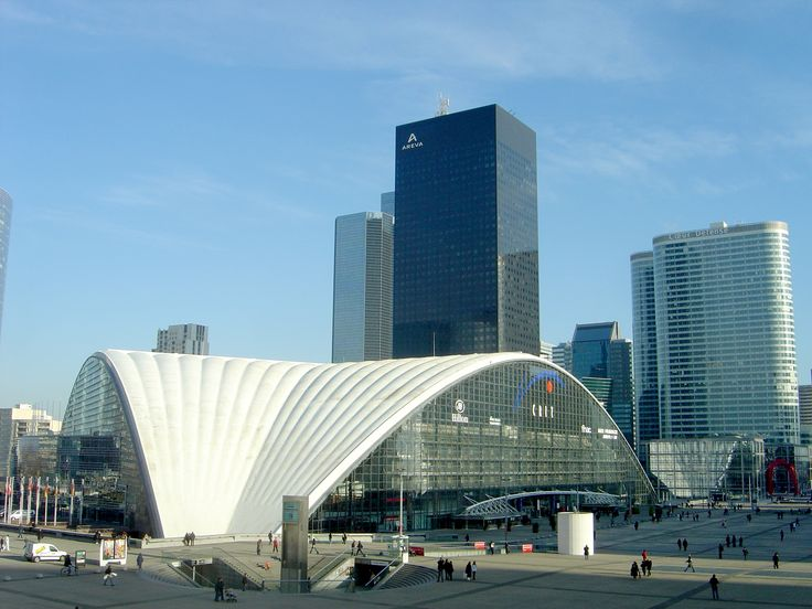 The Center of New Industries and Technologies (French: Centre des nouvelles industries et technologies, better known as the CNIT), located in Puteaux, France, is one of the first buildings built in La Défense in Paris, France