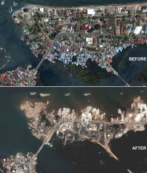 2004 Indian Ocean earthquake | In May 2005, scientists reported that the earthquake itself lasted nearly ten minutes when most major earthquakes last no more than a few seconds; it caused the entire planet to vibrate at least a few centimetres. It also triggered earthquakes elsewhere, as far away as Alaska .