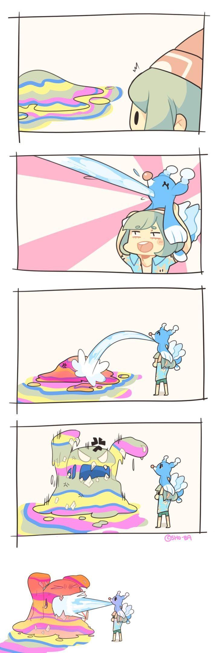 """Pokemon Sun and Moon X Super Mario Sunshine"""
