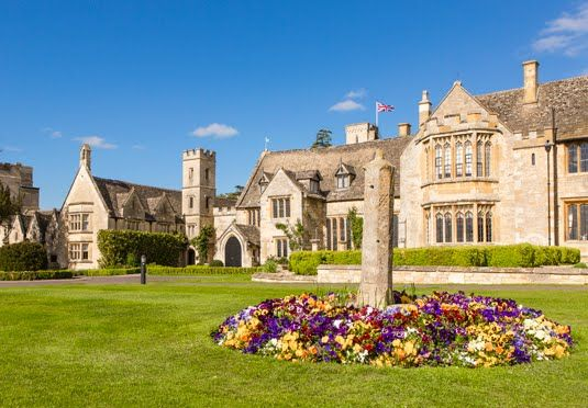 An award-winning Cotswolds hotel with an Indian themed spa and credit to spend on AA Rosette-awarded dining - includes breakfast
