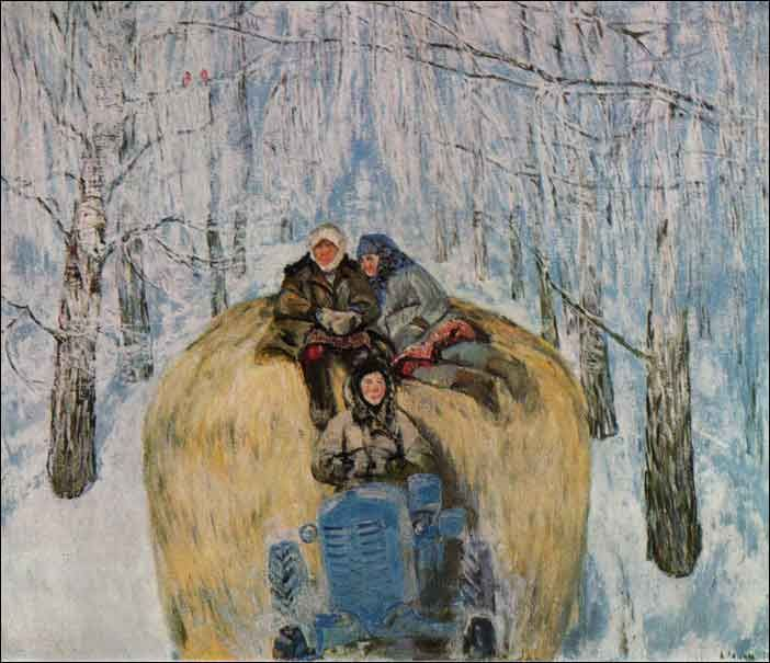 Загонек В.Ф. Морозное утро