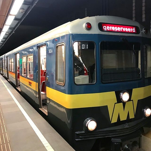 Rotterdam is celebrating that it was 50 years ago that the very first subway line of the Netherlands was opened.  This train set now nostalgia back then the beginning of a new era in transportation.  #uwn_holland  #super_holland  #wonderful_holland  #instanetherlands  #holland_photolovers  #dutch_connextion  #ig_discover_holland  #rottergram #rotterdam  #gurushots  #europe_ig  #global_hotshotz  #allbeauty_addiction  #eclectic_shotz  #heart_imprint  #gottolove_this  #worldbestgram…