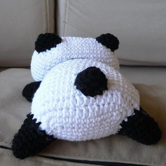 25+ best ideas about Crochet panda on Pinterest Free ...