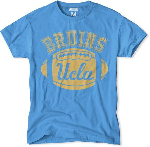 ON SALE with free shipping. UCLA Bruins Football T-Shirt. $24.99 #UCLA #Bruins