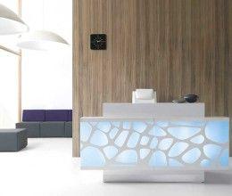 Image result for unique hotel reception desks