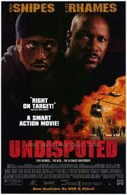 Undisputed Movie Poster 27x40 Used Rose Rollins, Johnny Williams, Michael Bailey Smith, Amy Aquino, Peter Falk, Michael A Tessiero, Peter Jason, Nicholas Cascone, JW Smith, Byron Minns, Ving Rhames, Wesley Snipes
