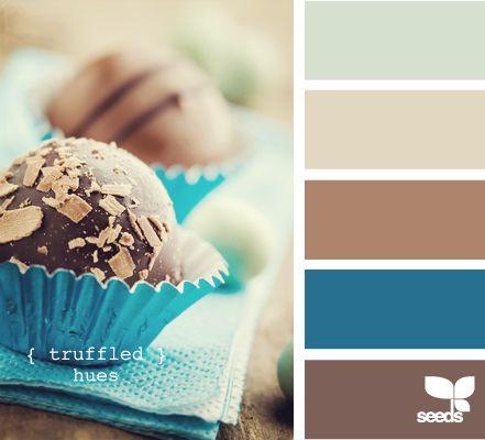 truffled hues