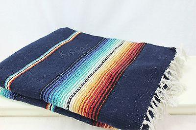 Mexican Serape Blanket Beach Yoga Sarape Throw Zarape New ...