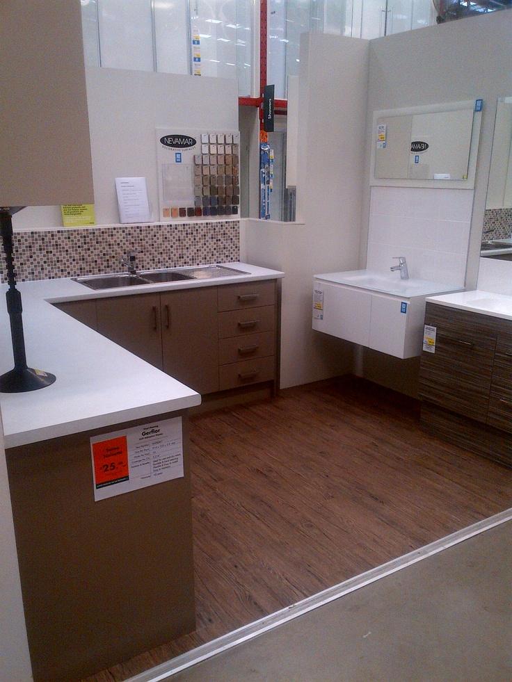 diy pvc self adhesive planks gerflor senso noisette flooring pinterest diy and crafts. Black Bedroom Furniture Sets. Home Design Ideas