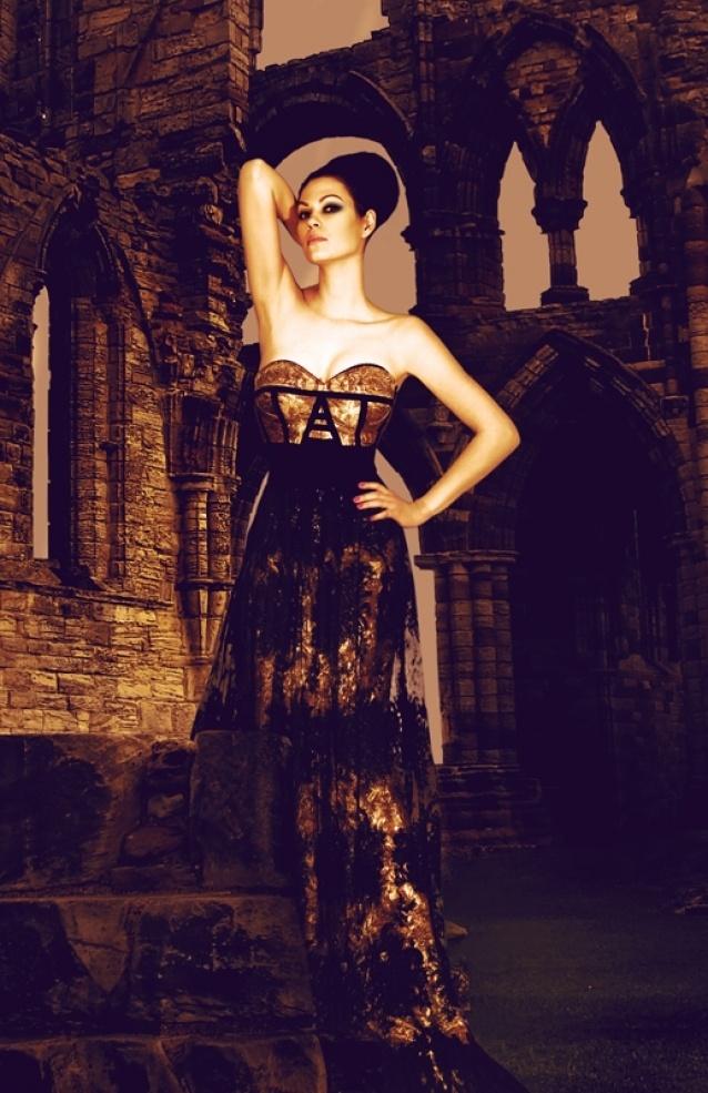 Barbara dress by Denis Predescu  Buy it: http://shop.inspirare.com/items/barbara-dress