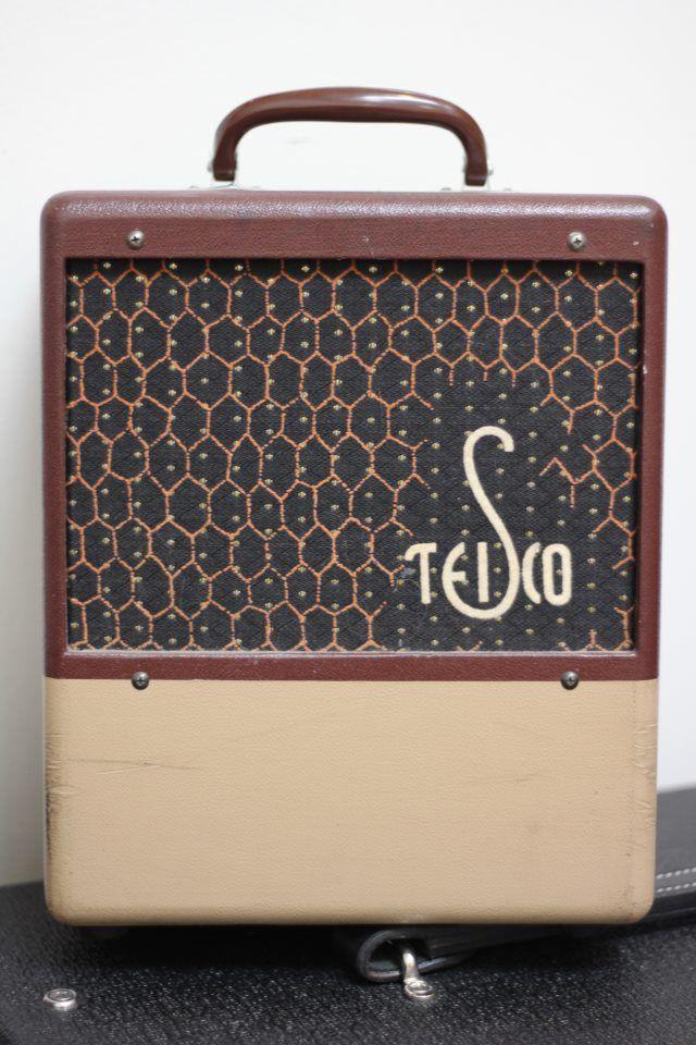 vintage Teisco amp