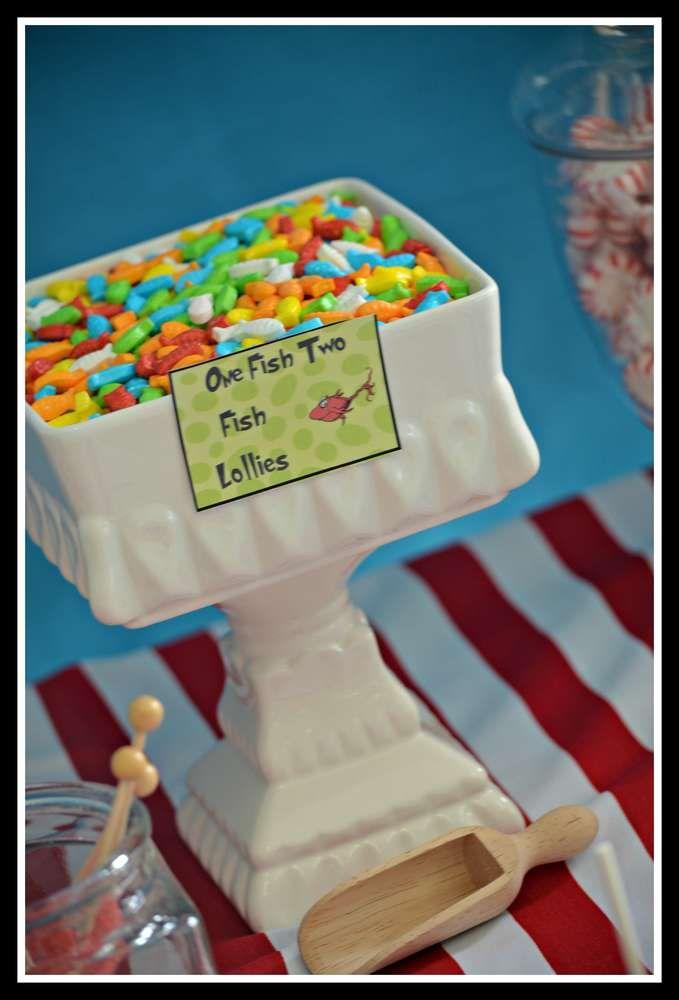 Sophie's Dr Seuss Party | CatchMyParty.com