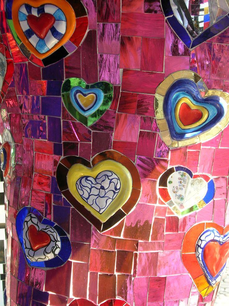Tarots Garden in Capalbio (Grosseto) created by Niki de Saint Phalle