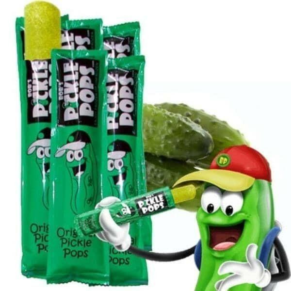 Bobs Pickle Pops Original Dill Flavor: (10 Pops)