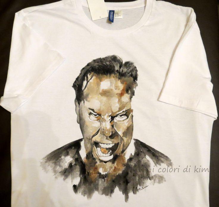 """"""" James Hetfield """" Metallica  by I colori di Kim"""