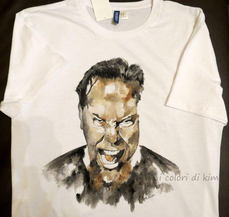 """ James Hetfield "" Metallica  by I colori di Kim"