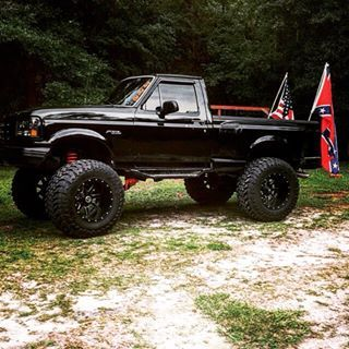 Awesome blacked out Ford truck