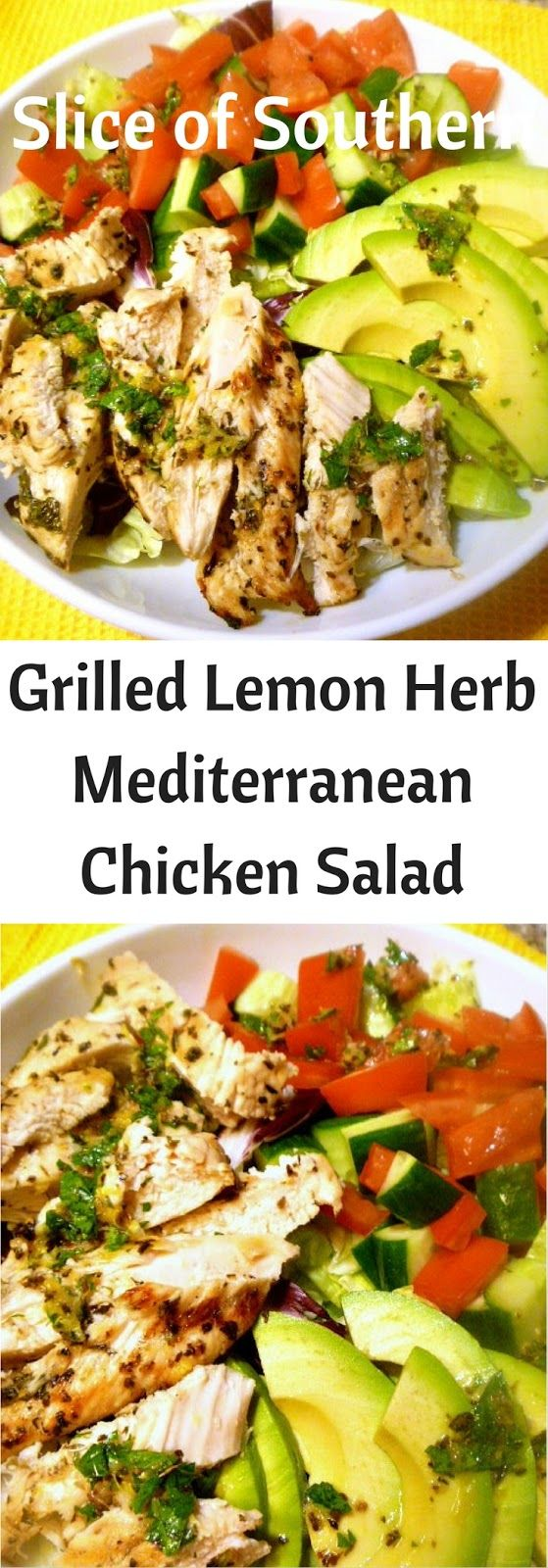 Slice of Southern: Workout Night Dinners: Grilled Lemon Herb Mediterranean…
