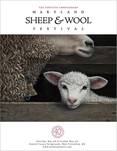 Maryland Sheep & Wool Festival...always the first full weekend in May...count me in!!! Howard County Fairgrounds!