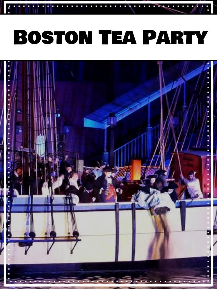 an analysis of the history of the boston tea party Start studying boston tea party learn vocabulary, terms, and more with flashcards, games, and other study tools.