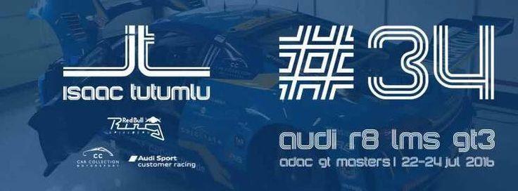 ISAAC TUTUMLU - ADAC GT MASTERS | 22-24 JUL - AUDI R8 LMS GT3 Isaac Tutumlu